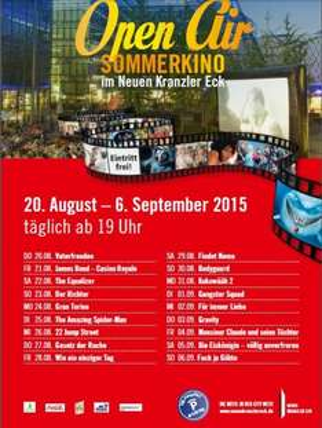 [LOKAL BERLIN] Kostenloser OpenAir Kinoabend am Neuen Kranzler Eck