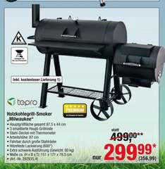 [Metro] Tepro Smoker Milwaukee - 356,99€