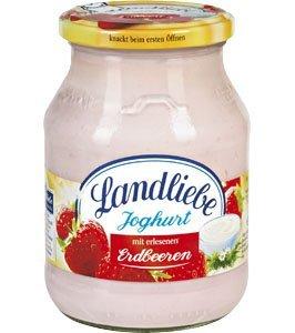 [KAUFLAND BY + BW] KW32 Landliebe Fruchtjoghurt (versch. Sorten, 500 g Glas) für 0,77 € (Angebot) [03.08.2015 - 08.08.2015]