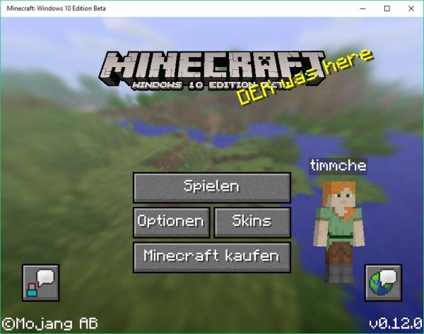 Minecraft Windows 10 Edition [für Minecraftbesitzer]