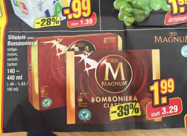Magnum Eis bei Netto ohne Hund -10% Tiefkühl Aktion