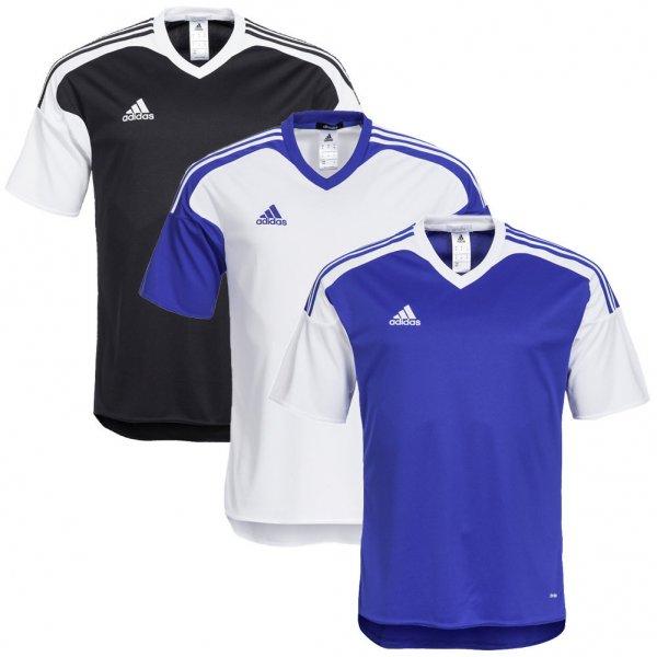 adidas Performance Trikot (S-XL) (schwarz, weiß, blau) (Typ: Team 13)