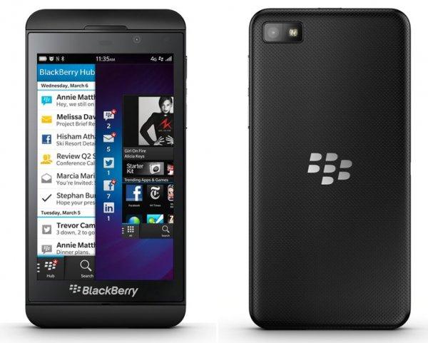 """Blackberry Z10 schwarz - asgoodasnew (Zustand """"sehr gut"""")"""