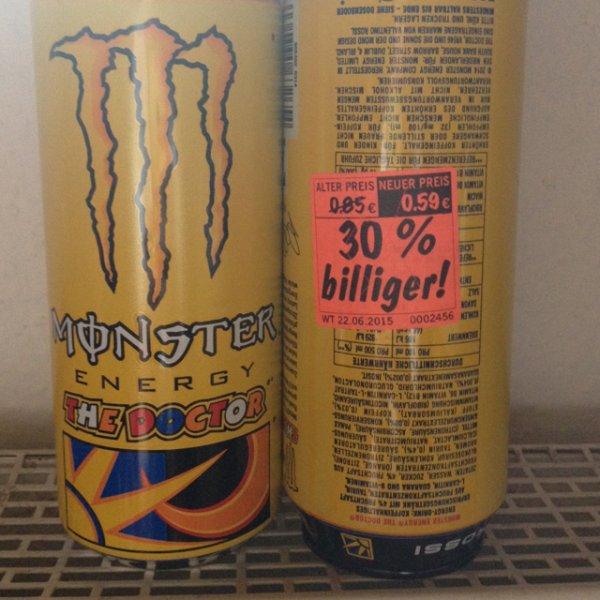 [Lokal Lidl Bremerhaven] Monster Energy The Doctor für 0,59€ + Pfand