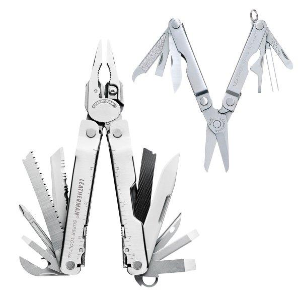 Leatherman Super Tool 300 + Micra Multitool LTG831702, beide Werkzeuge für nur 66,66 € statt 78,34 €, versandkostenfrei bei @digitalo