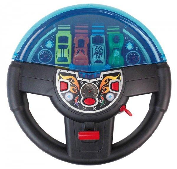 [Amazon-Prime] Happy People 30177 -  Für Kinder Personenkraftwagen Abschussrampe mit 4 Autos