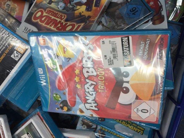 [Saturn Alex Berlin] Angry Birds Trilogy WII U für 4,99€