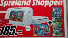 [Lokal Media Markt Köln] Wii U Basic (8GB) + New Super Mario Bros U., New Super Luigi U. + Skylanders Trap Team