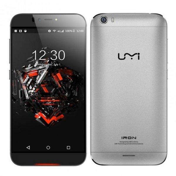 "UMI IRON für 169,37€/3GB Ram/5.5""/Android 5.1/LTE u. 32GB microSD bei eFox"