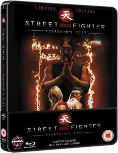 Street Fighter: Assassin's Fist Steelbook (Blu-ray) (OT) für 10,25€ @Zavvi.com