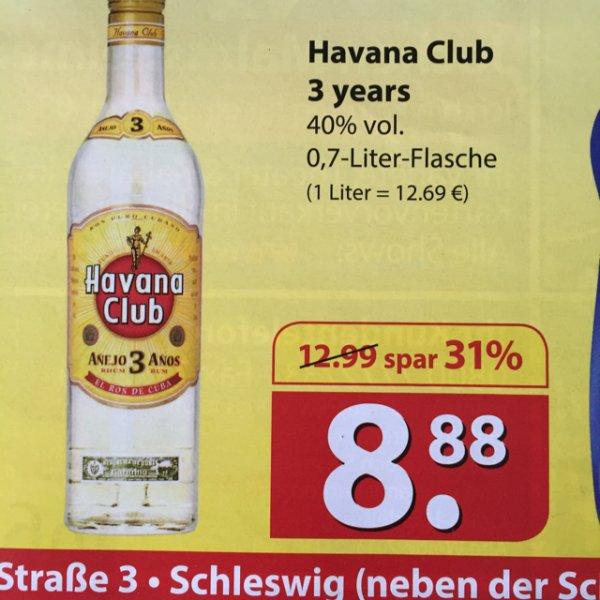 LOKAL Havana Club 3 Anos für 8,88€ bei Famila in Schleswig