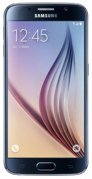 Samsung Galaxy S6 Smartphone (5.1 Zoll Touch-Display, 32 GB Speicher, Android 5.0) schwarz für 489 @ Amazon