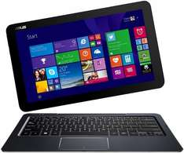 Asus Transformer Book T300CHI-FL040H 31,8 cm (12,5 Zoll) Convertible Tablet-PC (Intel Core-M-5Y10, 2GHz, 4GB RAM, 128GB SSD, Intel HD, Win 8.1) @amazon.it