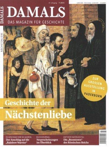 """Jahresabo der Zeitschrift """"Damals"""" für 85,20€ mit 70,00€ Gutschein (z.B. Amazon) – Effektivpreis: 15,20€"""