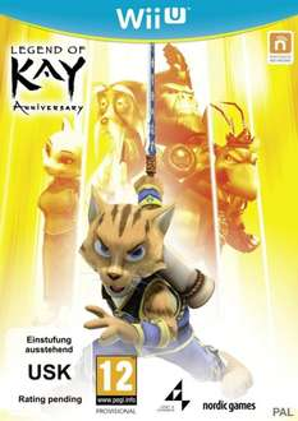 Legend of Kay Anniversary für Wii U @Thalia.de bereits lieferbar