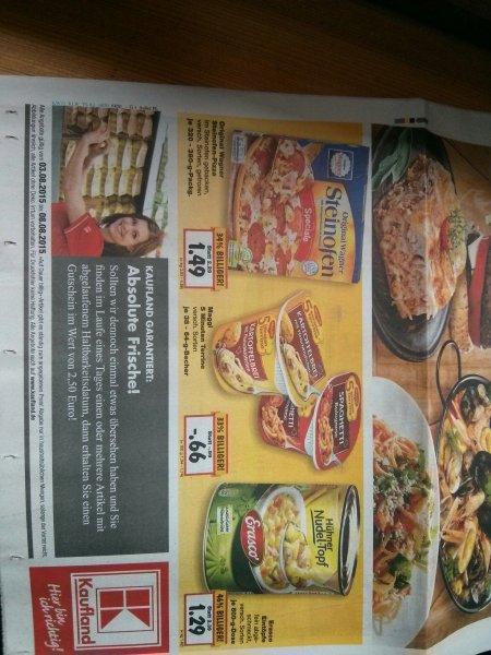 Wagner Steinofen Pizza ab 3.8 bei Kaufland