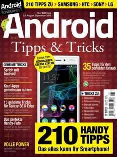 Android Magazin Tipps & Tricks Jul/Aug/Sep 2015 gratis