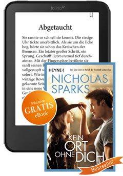 [Fairbuch.de] Tolino Vision 2 inkl. kostenlosem eBook für 109 Euro (versandkostenfrei) bis 02.08.15