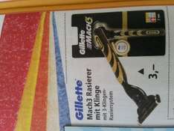 Gillette Mach 3 Rasierer mit Klinge bei Thomas Philipps NRW vll Mehr ? Ab 3.8