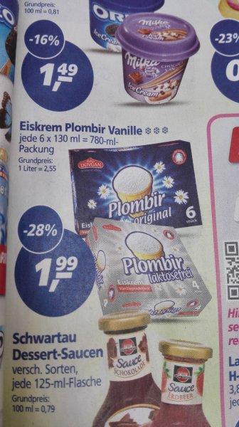 [real offline] Plombir Eis Vanille für 1,99€