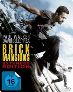 Brick Mansions (Extended Edition) (exklusives Müller Steelbook) blu-ray
