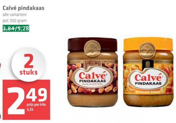 [GRENZGÄNGER NL] SPAR - CALVE Erdnussbutter - 2x 350g für 2,49