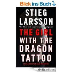 [kindle] Stieg Larsson: The Girl with the Dragon Tattoo (Verblendung), Bd. 1 Millennium Trilogie