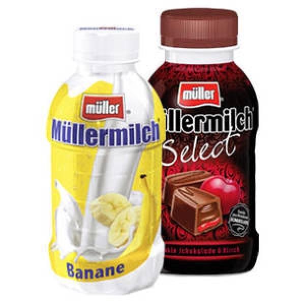 [FAMILA NO] 10 Flaschen Müllermilch versch. Sorten 400/500ml für 5,00€ (0,50€/Stück)
