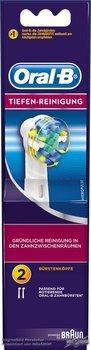 [ebay] 4xOral-B Tiefenreinigung Ersatzbürsten 12,60€ (3,15€/Stück)
