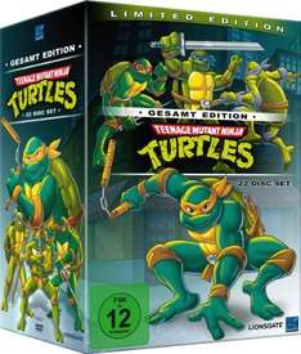 Teenage Mutant Ninja Turtles - Gesamt Edition (22 Discs) @Saturn für 29,98€