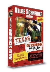 Helge Schneider Collection WHD DVD 4 Filme