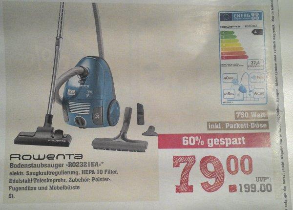 [REWE Center] Rowenta Bodenstaubsauger RO2321EA für nur 79€ (Idealo: 114€)