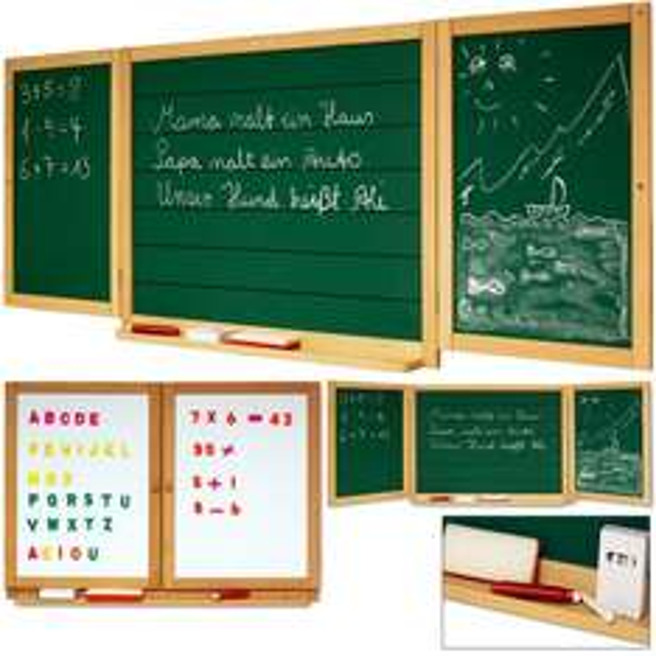 Kinder Schultafel Magnettafel Maltafel Holztafel Wandtafel Tafel, 17,95 EUR @ ebay