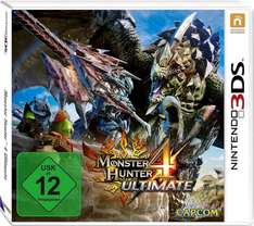 Monster Hunter 4 Ultimate 3ds Amazon