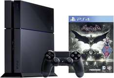 [eBay Wooow Angebot] Sony PlayStation 4 500GB Jet Black + Batman: Arkham Knight