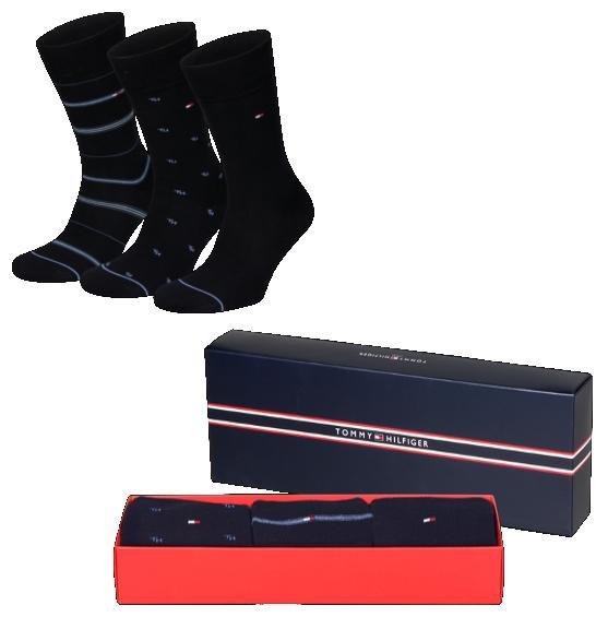 TOMMY HILFIGER Herrensocken 3 Paar in Geschenkbox für 9,99€ inkl. VSK @outlet46