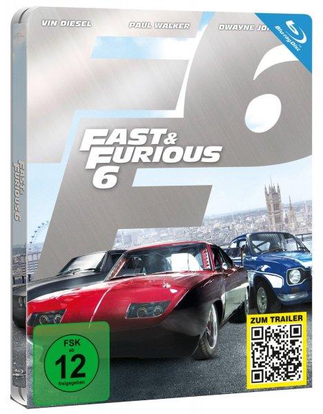Fast & Furious 6 (Steelbook) [Blu-ray] [Limited Edition] für 9,98€ @Media Dealer
