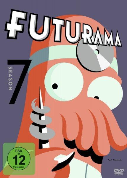 Futurama - Season 1-7 (DVD), je 11,97€ bei amazon.de (8,97€ mit prime)