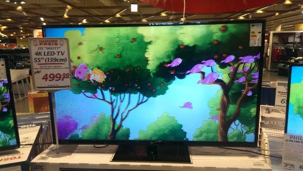 """[ Lokal evntl Bundesweit] offline Marktkauf JTC 55"""" 4K  TFT Fernseher  499€"""