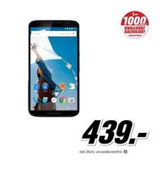[AMAZON] [MEDIA MARKT] Mo­to­ro­la Nexus 6 32 GB blau für 439 EUR