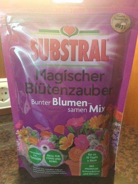 (Lokal) Kaufland Spremberg, Substral Magischer Blütenzauber Bunter Blumensamen-Mix, 350g Beutel
