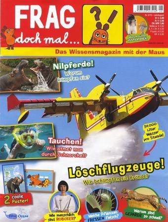 """Jahresabo """"Frag doch mal die Maus"""" für 15€ @leserservice.de + Payback"""