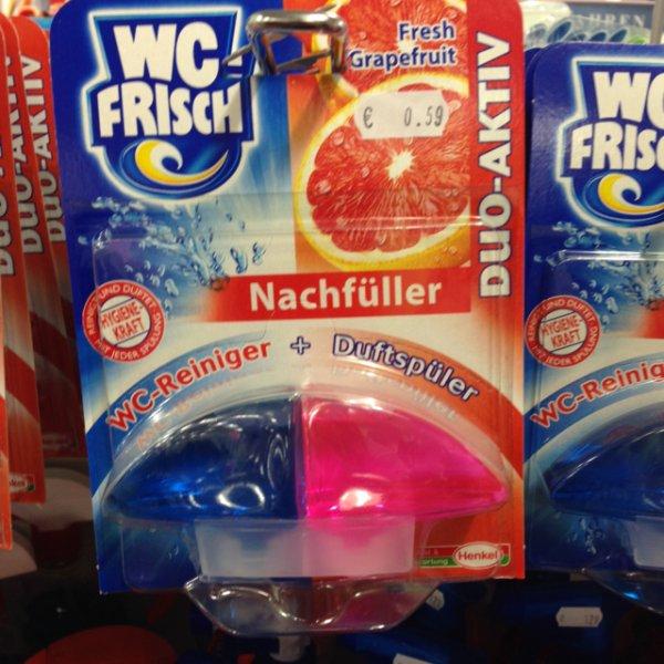 Woolworth Rüsselsheim - WC Frisch 0,59€