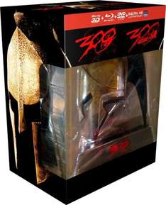 300 Ultimate Collector's Edition (2 Blu-ray + Blu-ray 3D) + Sparta Helm inkl. Vsk für  29,45 € > [amazon.fr]