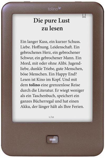 [buecher.de] Tolino Shine für sagenhafte 63 Euro statt 99,99 Euro (aktueller Tiefstpreis, inkl. VSK)