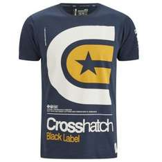 (UK) Crosshatch (oder andere Marken) 2er/4er Pack T-Shirts für 21.16€ @Zavvi