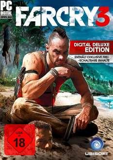 Far Cry 3 Digital Deluxe Edition (PC Download) @ amazon