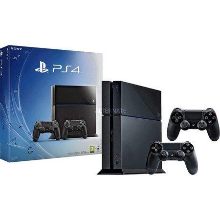 [ZackZack] Sony Playstation 4 500GB inkl. 2. Controller - Keine Versandkosten!