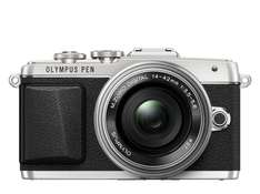 Olympus Pen E-PL7 Kit 14-42 mm EZ silber für 456,60€ @Amazon.it