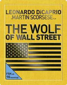 [Media-Dealer.de] The Wolf Of Wall Street Steelbook Blu-Ray für 11,96 EUR inkl. VSK